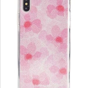 Kate Spade Peony iPhone XS Max case